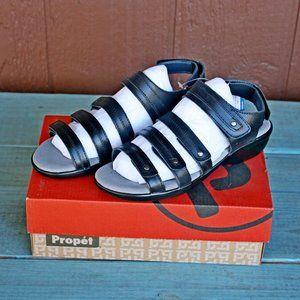 Propet Womens Aurora Wedge Sandals 6.5 (4E) XWide